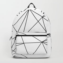 geometric bear Backpack