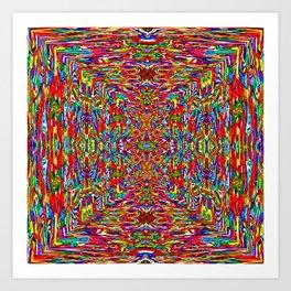 Pattern-348 Art Print