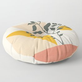 Geometric Modern Art 43 Floor Pillow