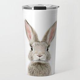 Bunny Portrait Travel Mug