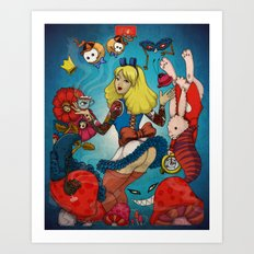 Sweet Alice Art Print