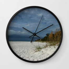 Winter Beauty at The Beachside Wall Clock
