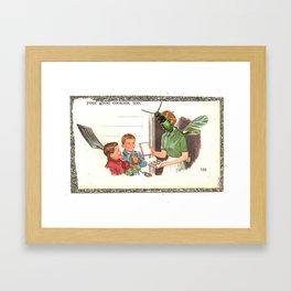 whiterush Framed Art Print