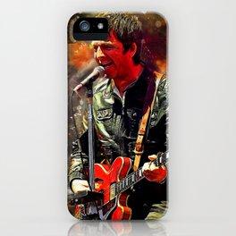 Noel Gallagher iPhone Case