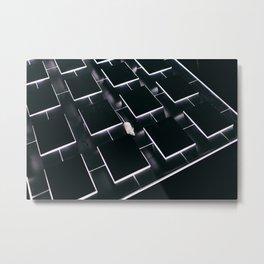 Mice in a maze Metal Print
