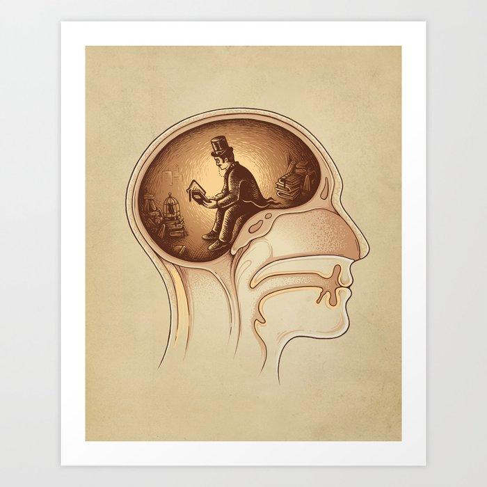 Mind Reader Art Print
