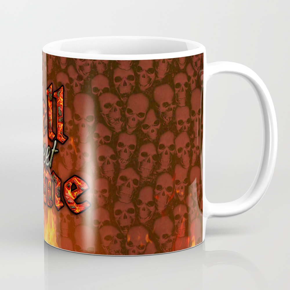 Hell Sweet Home Mug by Popalien MUG8068142