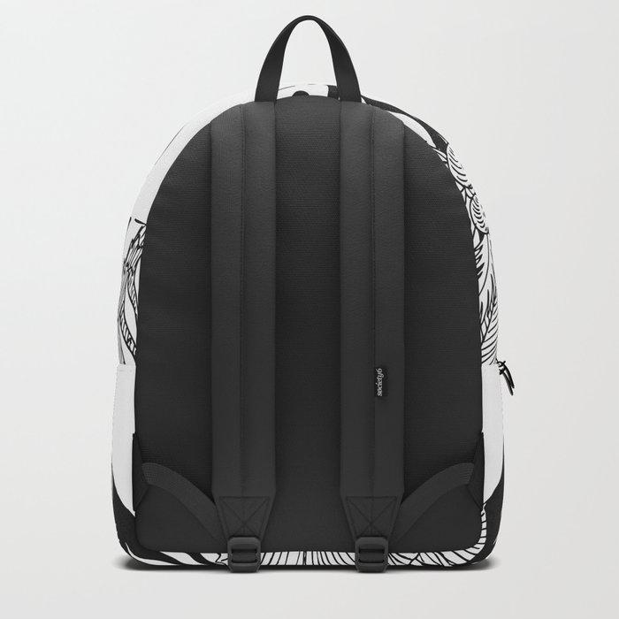 Tropical A Backpack
