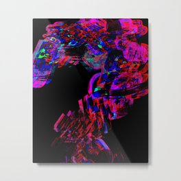 quetions Metal Print