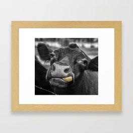 Don't Judge Me! Framed Art Print