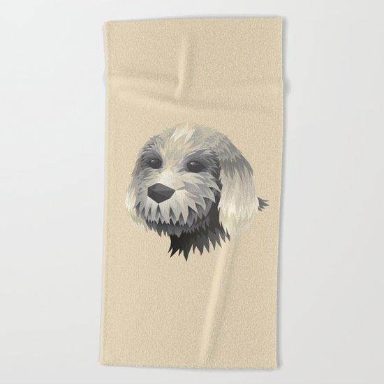 Cute Dog Beach Towel