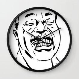 Face Louis Armstrong Wall Clock