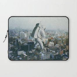 Stepping On Laptop Sleeve