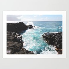 Kauai Tidal Pool Art Print