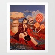 Billy Wonka Oil Painting Art Print