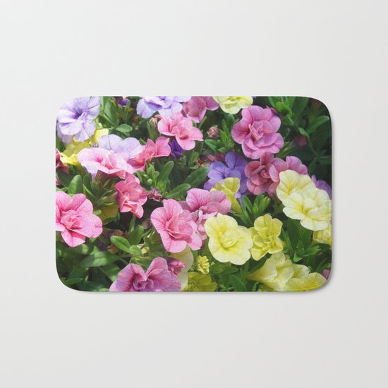 Lovely Flowers 17 Bath Mat