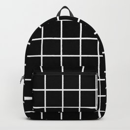 GRID. crayon brush lines . Backpack