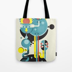 Blue Monster. Tote Bag