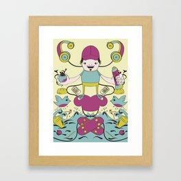 orly's life Framed Art Print
