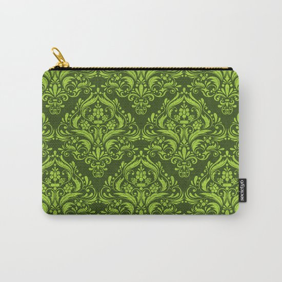 Halloween damask colors #3 Carry-All Pouch