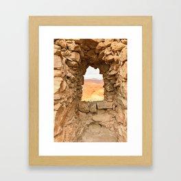 Judean Desert Framed Art Print