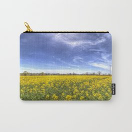 Yellow Fields Of Summer Carry-All Pouch