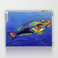 Rainbow parrot fish Laptop & iPad Skin
