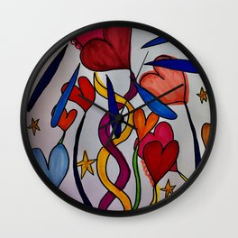 Hold Me In Love Wall Clock