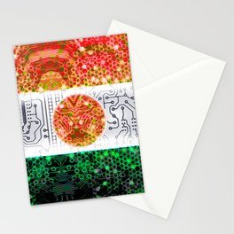 circuit board niger (flag) Stationery Cards