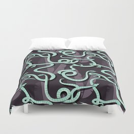 Snakes pattern 003 Duvet Cover