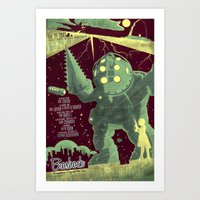 bioshock Art Prints featuring Bioshock by Fabled Creative - Archive