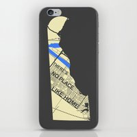 chad wys iPhone & iPod Skins featuring There's No Place Like Home [Chad] by Ebenezer Hedgehog