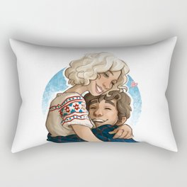 Norma & Norman Rectangular Pillow