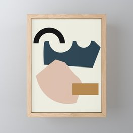 Shape Study #29 - Lola Collection Framed Mini Art Print