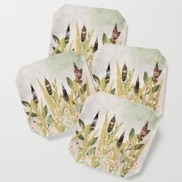 Nature Gold Meadow Coaster