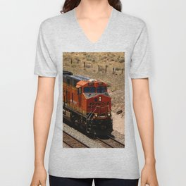 BNSF Engine Unisex V-Neck