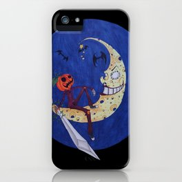 Jack Hallow, Guardian of the Night iPhone Case