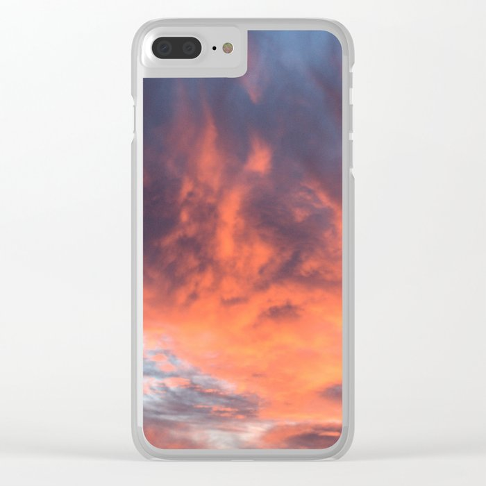 Phoenix Reborn Clear iPhone Case