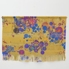 Vibrant Multi Color Abstract Design Wall Hanging