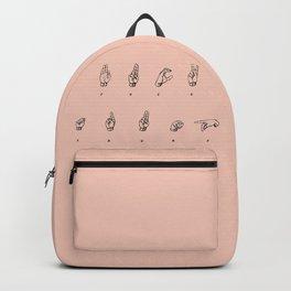 F**K TRUMP Backpack