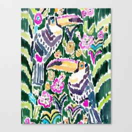 TOUCAN PARADISE Canvas Print