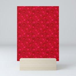 Red anemones Mini Art Print