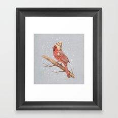First Snow - colour option Framed Art Print