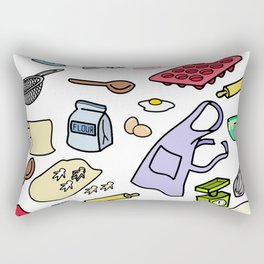 BAKE COOK BE  A CHEF Rectangular Pillow