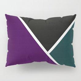 Noir Series - Purple & Green Pillow Sham