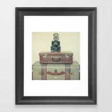 Leave Nothing Behind Framed Art Print
