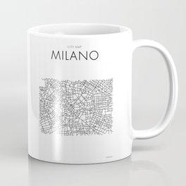 Milano - City Map - Daniele Drigo Coffee Mug