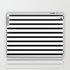 Black Stripe Pattern Laptop & iPad Skin