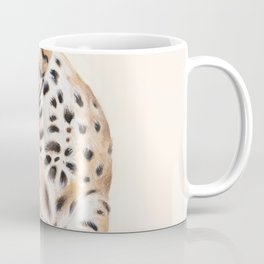 Cute Stretching Bengal Kitten Coffee Mug