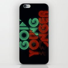 Going Younger iPhone & iPod Skin